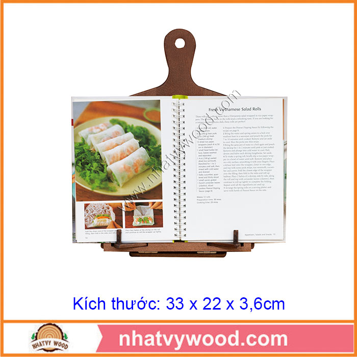 Kitchen cookbook holder stand NV-RBH01
