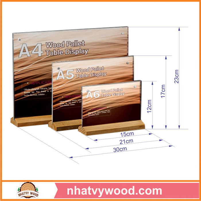Tent card NV6112