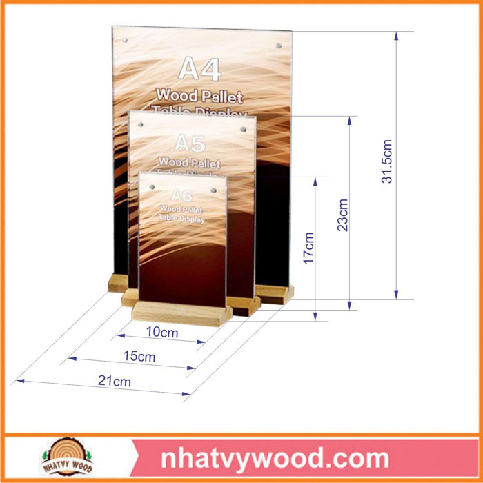 Tent card NV6111