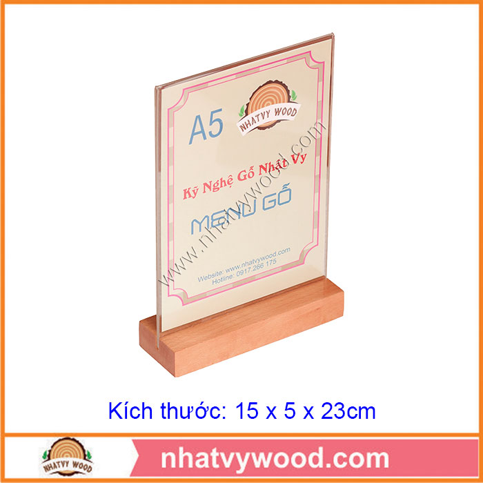 Tent card A5-NV5101