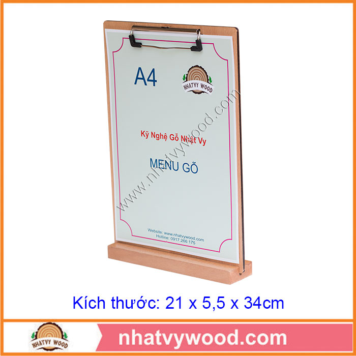 Tent card A4-NV6110
